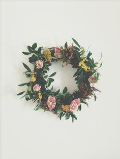 Wild Folk wreath. wildfolkstudio.com