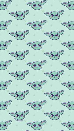 Fondo de pantalla Baby Yoda ilustrado por Aaron Jandette / Star Wars Wallpaper Star Wars Wallpaper, Disney Wallpaper, Stars, Baby, Wallpapers, Sterne, Baby Humor, Infant, Babies