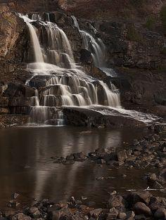 Gooseberry Falls of Two Harbors, Minnesota