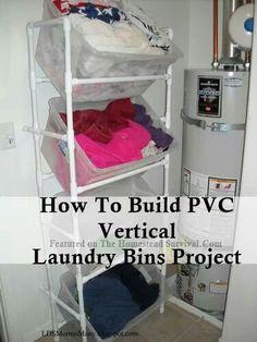Laundry bin frame