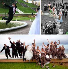 Brain-Eating Groomsmen, And 27 Other Creative Wedding Photos