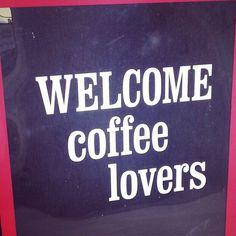 #Welcome #coffee #lovers