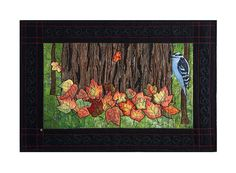 Art Wall Hanging Quilt Bright Leaves by thebutterflyquilter, $500.00