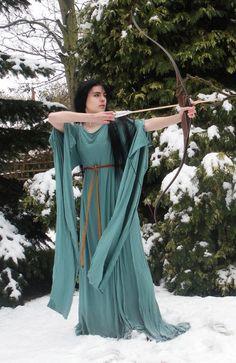 medieval archer woman