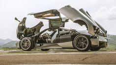 Top Gear drives the Pagani Huayra - BBC Top Gear