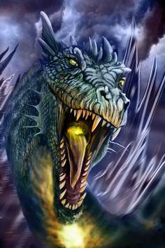 Dragon by angelanovus on deviantart