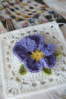 tillie tulip - a handmade mishmosh: New custom order...pretty pansies