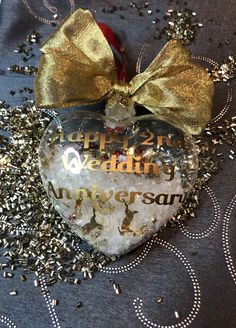 Anniversary Gifts, Wedding Gifts, Christmas Bulbs, Holiday Decor, Home Decor, Birthday Presents, Wedding Day Gifts, Decoration Home, Wedding Anniversary Gifts
