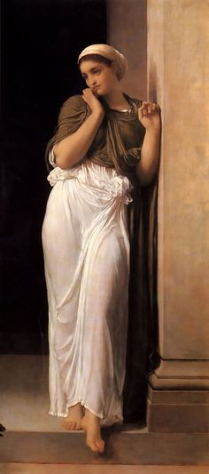 Nausicaa - Oil on canvas - Lord Frederick Leighton (1830-1896) - c. 1878