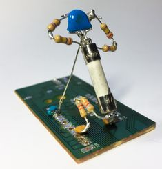 Golf Electronic Art, Funny Art, Diy Art, Metal Art, Golf, Technology, Computers, Ebay, Cartoon
