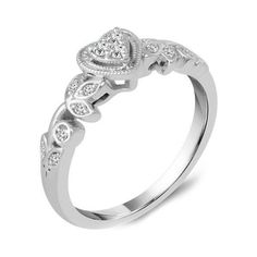Ben Garelick Heart Shape Diamond Promise Ring ($650) ❤ liked on Polyvore featuring jewelry, rings, heart shaped diamond ring, heart jewelry, heart ring, diamond heart jewelry and heart shaped diamond jewelry