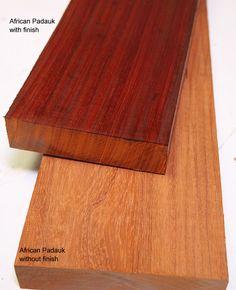 Working With Padauk Wood