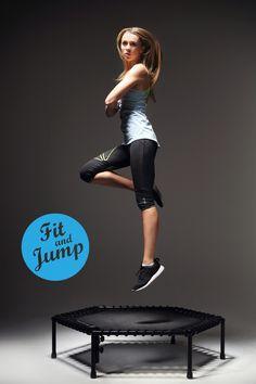 Jeśli spadam, to tylko po to, aby się odbić! #fitandjump #session #photo #trampoline #fitnessnatrampolinach