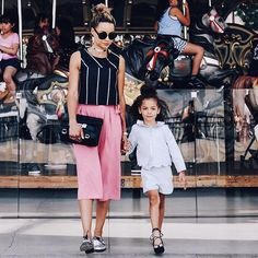 Mom and London Summer style