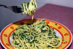 Salsa de espinacas para pasta para #Mycook http://www.mycook.es/receta/salsa-de-espinacas-para-pasta/
