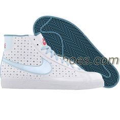 official photos eab8f 70408 Nike Blazer Mid (white   blue mist   cerulean) 325064-142 -  54.99