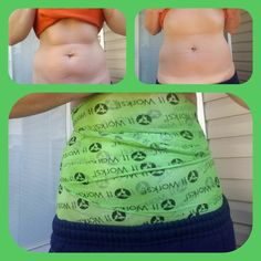 OMG! these are my personal results from just one WRAP! Only 45mins! And you can clearly see the difference! Let me know if you want to try it! Follow me on Facebook! Monet Nairmore, or It Works South