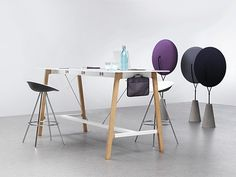 Best TablesStanding Height Images On Pinterest Business - Tall meeting table