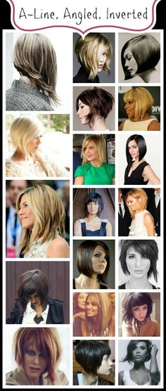 Celebrating THE BOB Hairstyle: The A-Line, Inverted, Asymetrical Bob www.abeautifullittlelife.com