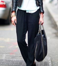 A Street Style Guide To Wearing Chains