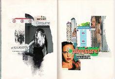 Consume & Destroy.  2008, Mixed media, 42 x 29,7 cm