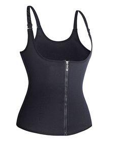 0e869ffa8e0 Gotoly Curves Shapers Adjustable Straps Body Shaper Waist Cincher Tank Top  (Small