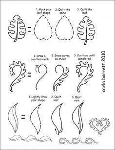 Quilt lines are so applicable to Zentangle. design instruction by Carla Barrett