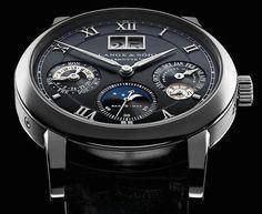 A. Lange & Söhne Langematik Perpetual Watch In White Gold