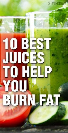 Is weight loss your New Year resolution? Are you skipping meals to lose those extra pounds quickly? Here are 10 best fat burning juices for you. #BestDietPlanForWeightLoss Quick Weight Loss Tips, Healthy Weight Loss, How To Lose Weight Fast, Losing Weight, Reduce Weight, Loose Weight, Lose Fat, Body Weight, Fat Burning Detox Drinks