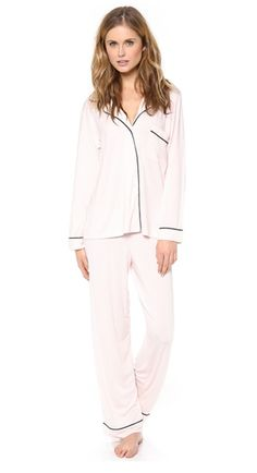 sweet light pink PJ set