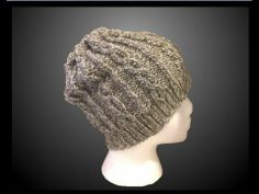 Slouchy Hat Pattern - Easy Step by Step Video Instructions. Great for Beginnners. Look  Good on Men or Women. For the FREE Pattern click this link : http://www.loomahat.com/slouchy-hat-pattern
