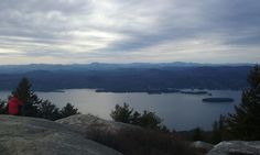 Summit of Buck Mountain, N.Y. Been there, done that.