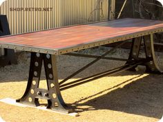 wood metal rivets