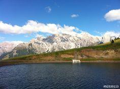 #View To Mt. #Hochkönig From #Water #Reservoir #Lake #BürglAlm #Dienten #Salzburg #Austria @fotolia #fotolia #nature #landscape #travel #summer #fall #outdoor #mountains #holidays #vacation #sightseein #bluesky #hiking #biking #colorful #beautiful #wonderful #stock #photo #portfolio #download #hires #royaltyfree
