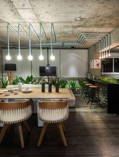 Decoração estilo loft de Eduardo Medeiros Arquitetura e Design + Bela Cruz Arquitetura + Studio Migliori