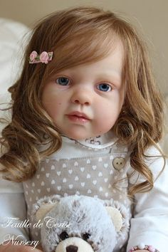 New Reborn Toddler Doll Kit Louisa By Jannie De Lange Included in Dolls & Bears, Dolls, Clothing & Accessories, Artist & Handmade Dolls Reborn Dolls For Sale, Reborn Toddler Dolls, Reborn Doll Kits, Child Doll, Reborn Babies, Baby Girl Toys, Toys For Girls, Lifelike Dolls, Silicone Dolls