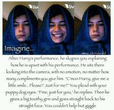 Imagine Harry over Skype.