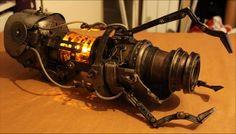 Steampunk Portal gun! The awesome!