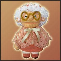 Patron Amigurumi Crochet - Granny