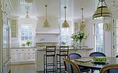 On the other hand, despite my previous post, here is a gorgeous white kitchen.