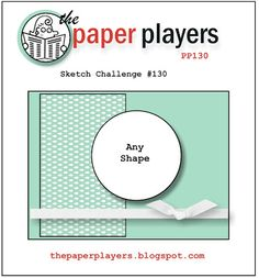 wee inklings: Paper Players 130–A Sketch from Me!
