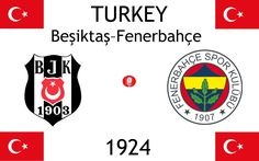 1924, Turkey (1st Beşiktaş JK–Fenerbahçe SK), Beşiktaş J.K. < > Fenerbahçe SK #BeşiktaşJK #FenerbahçeSK #Turkey (L16690) Football Match, Derby
