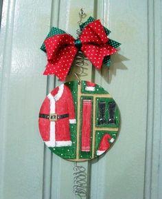 Ornamento natalizio per porta