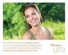 Tip Natura para lucir durante el día, Natura Una linea Premium de Maquillajes!!!