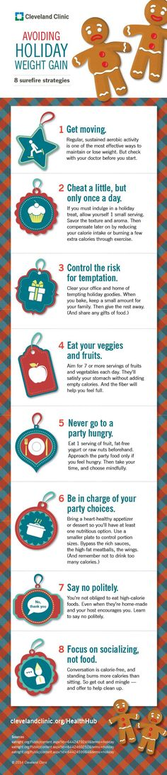Check out THESE 8 tips to avoid packing on the pounds this holiday season. #infographic