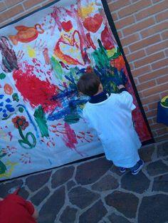 Giochi attraverso la pittura