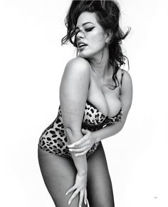 Ashley Graham Gives It Straight Up for Vogue Italia – MODELS.com Feed