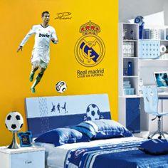 http://www.arab-bedroom.com/2014/04/blog-post_24.html Football Wall, Boys Football Bedroom, Home Decor Bedroom, Bedroom Wall, Room Decor, Wall Stickers World, Diy Wall Stickers, Wall Decal Sticker, Decals