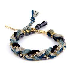 Bluebird Friendship Thread Braided Bracelet