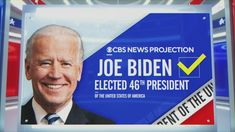 Joseph Robinette Biden Jr. was elected the 46th president of the United States on Saturday, promising to restore political normalcy and a spirit of national unity to confront raging health and economic crises, and making Donald J. Trump a one-term president after four years of tumult in the White House. Vote Counting, Cbs News, Presidential Election, Joe Biden, Presidents, Politics, United States, The Unit, America